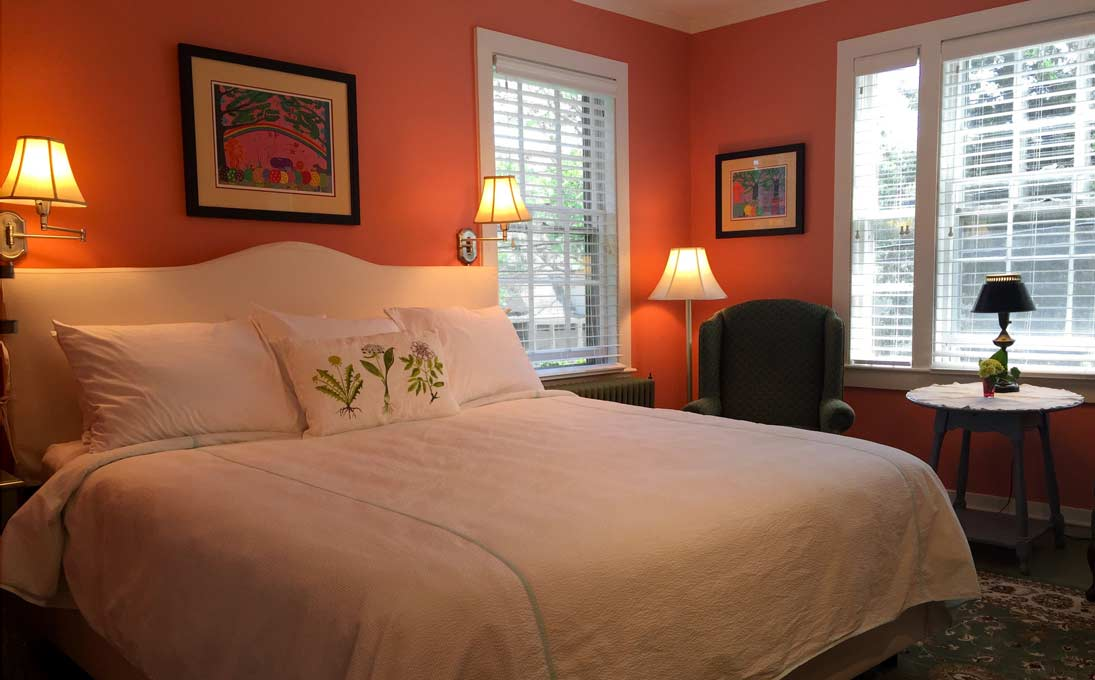 Romantic Room at a Historic Cape Cod Inn